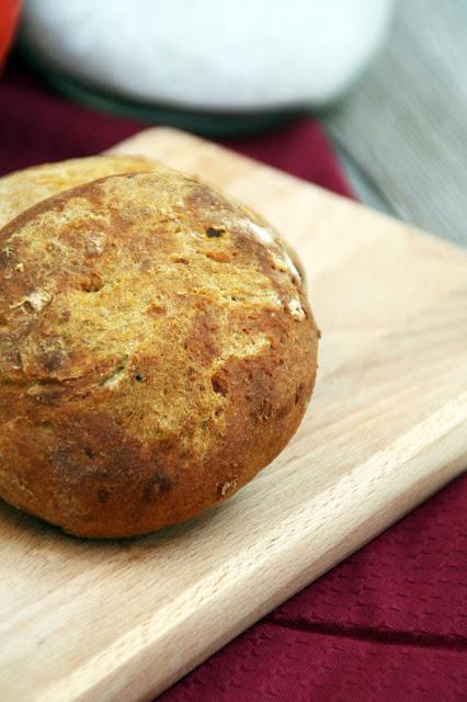 Kürbis-Kartoffel-Brötchen