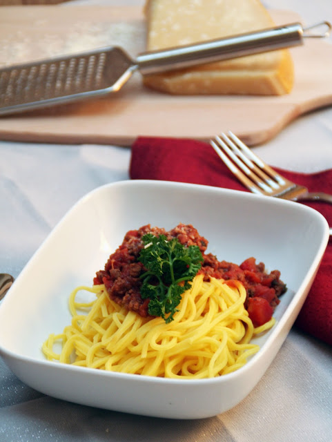 Sugo für Spaghetti - a la Bolognese