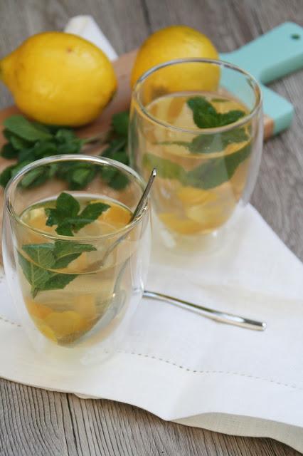 Ingwer-Minz-Tee