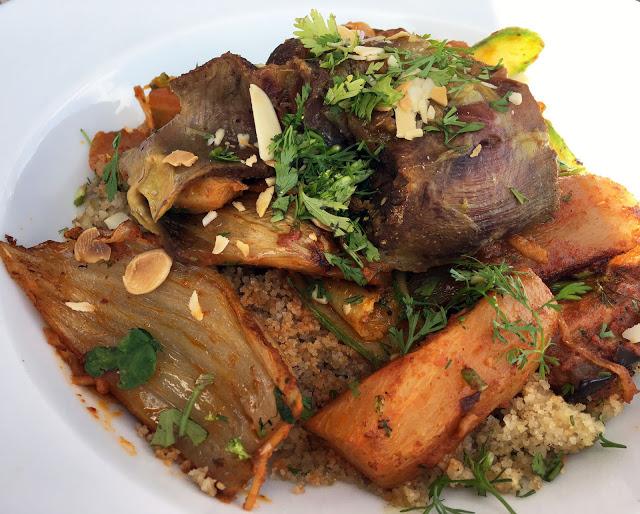 Couscous mit Rind
