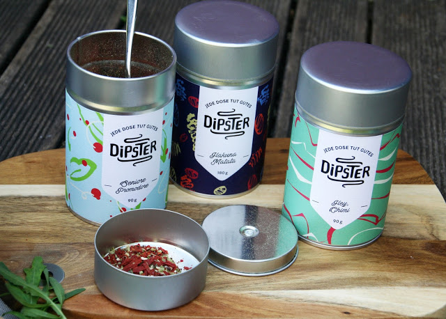 Auswahl Dipster-Dips
