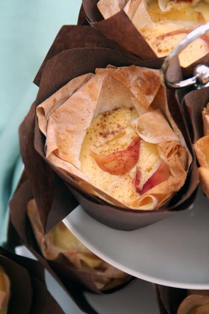 Filoteig-Muffins