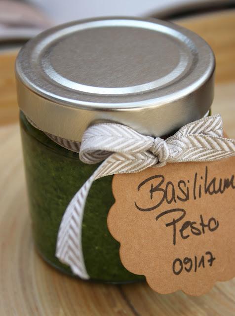 Basilikum-Pesto