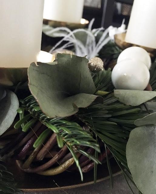 Adventskranz - Weidenkranz