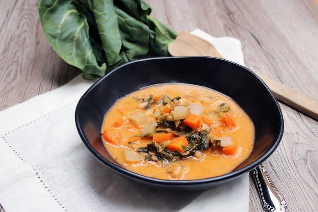 Ribollita - Gemüseeintopf mit Bohnen