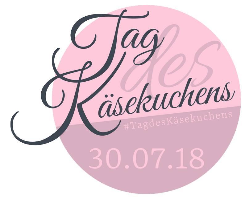 Banner Blogparade Tag des Käsekuchens