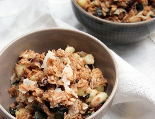 Dinkel-Porridge