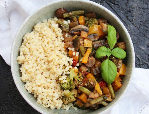 Antipasti-Gemüse-Bowl