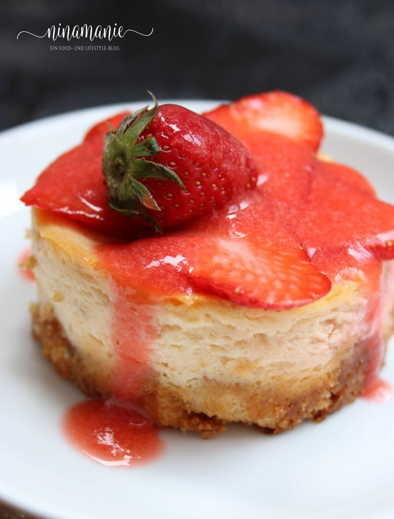 Erdbeeren-Käseküchlein
