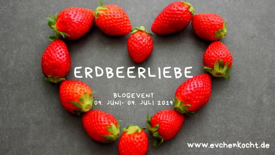 Erdbeere-Liebe-Banner