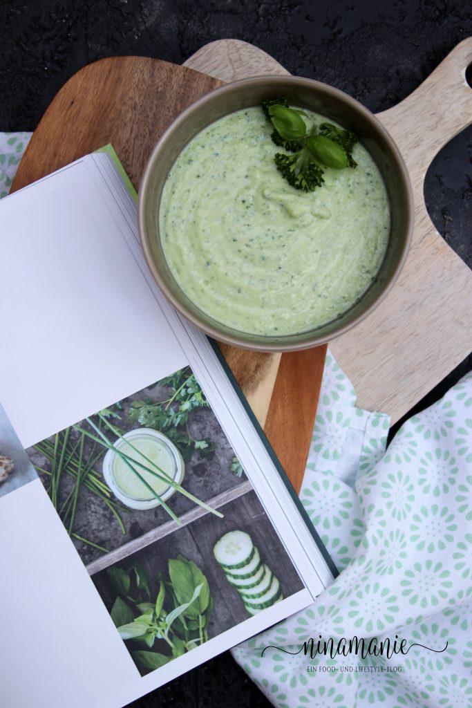 Entspannt kochen - Kalte Gurkensuppe