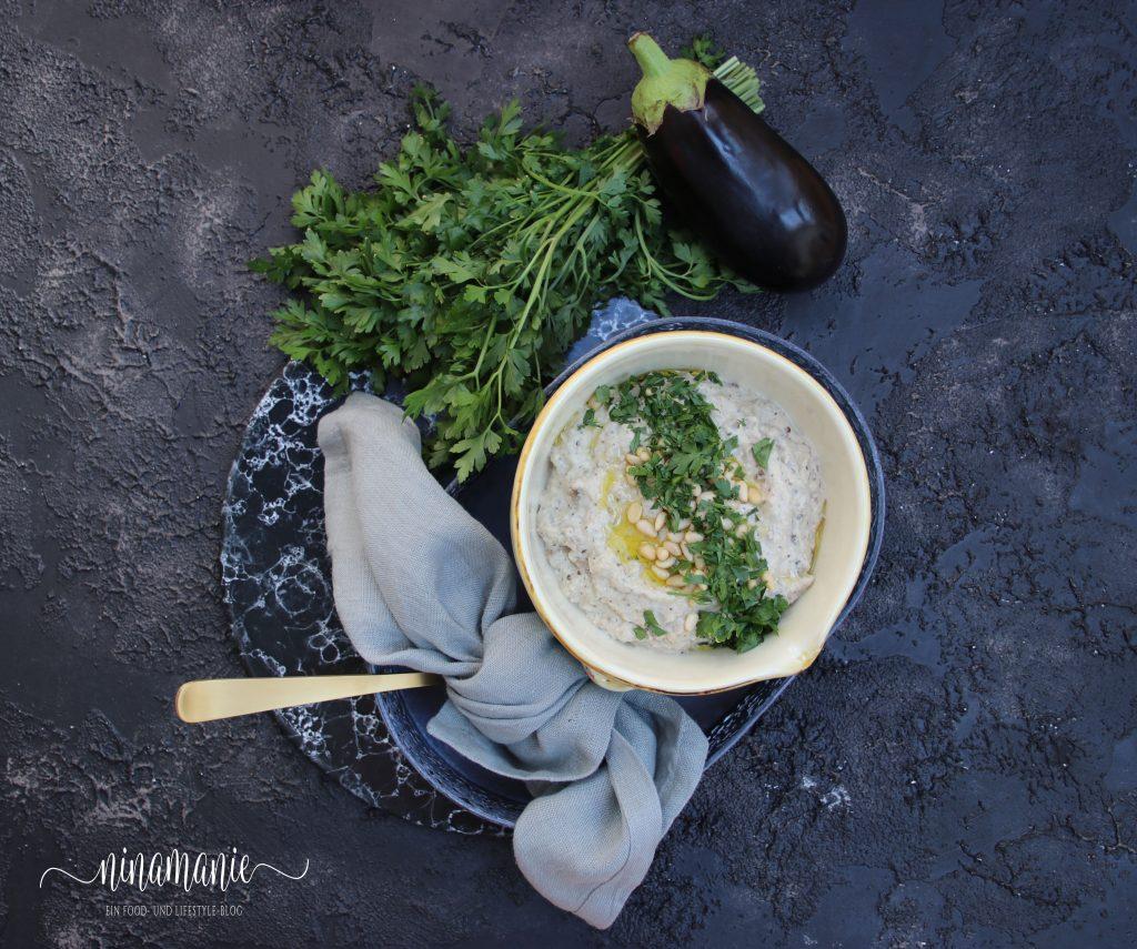 Baba Ganoush mit Joghurt