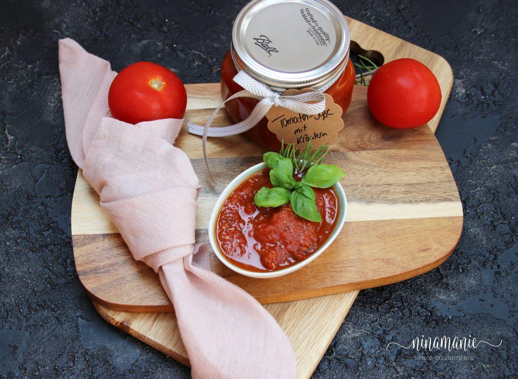 Sommer im Glas - Tomatensoße
