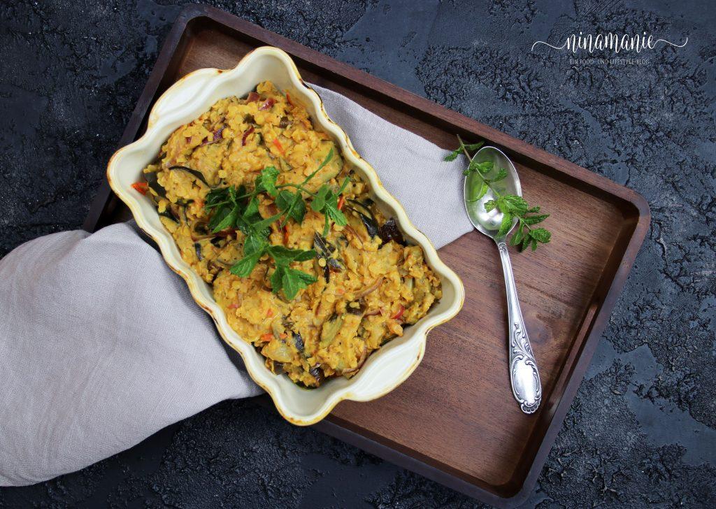 Gewürze-Küche: Auberginen-Dal