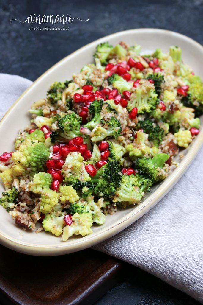 Soulfood: Brokkoli-Blumenkohl-Salat