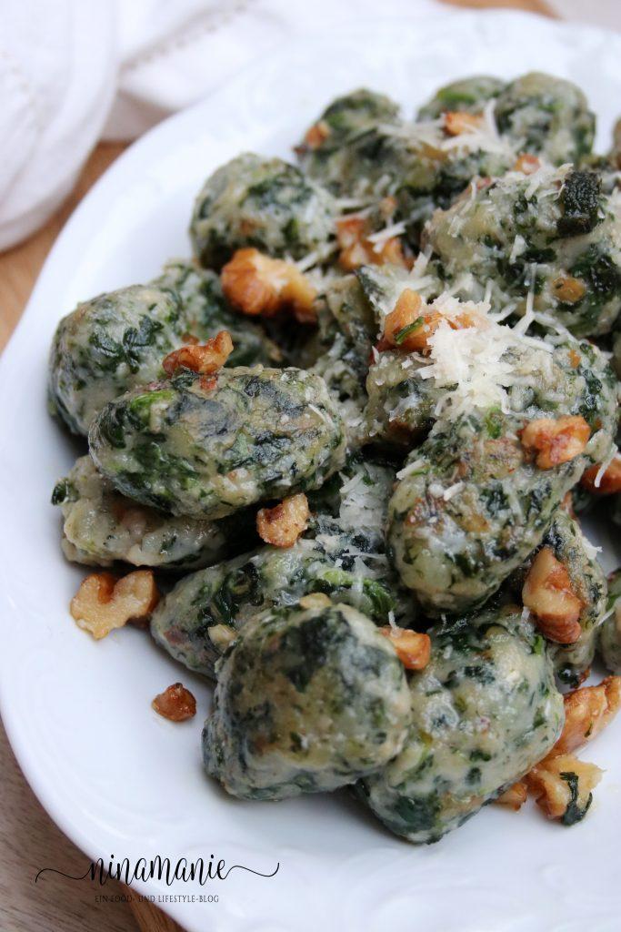 Spinat-Gnocchi