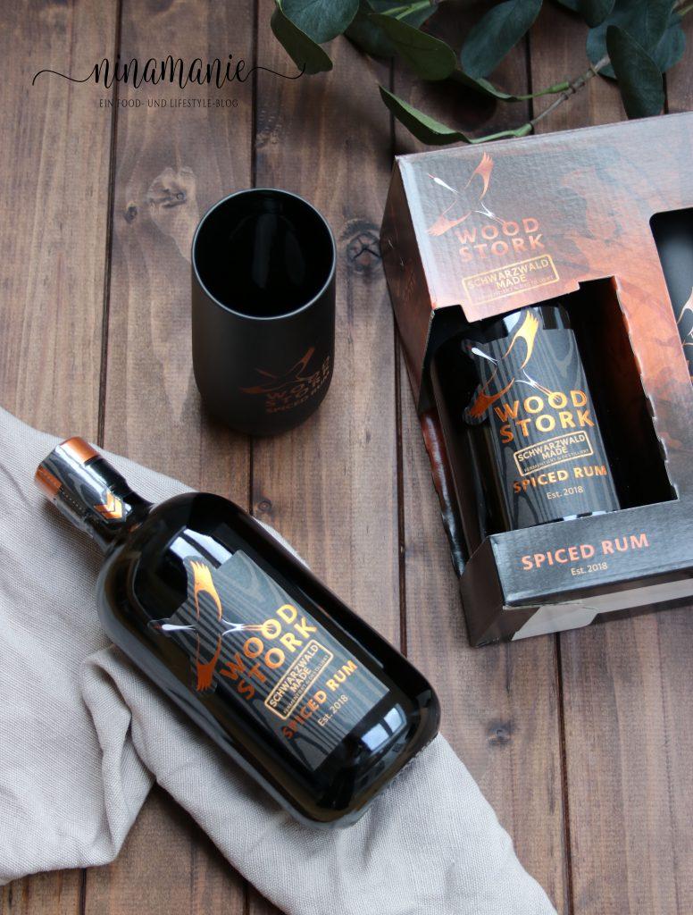 Wood Stork Spiced Rum Geschenkset