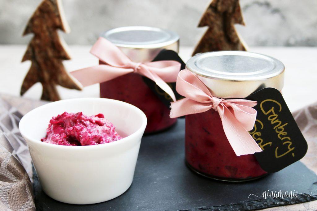 Cranberry-Senf - Geschenk aus der Küche