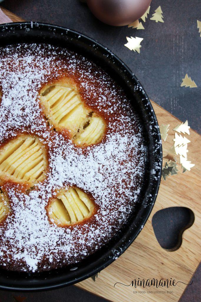 Buttriger Apfelkuchen