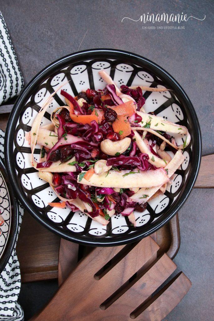 Wurzelgemüse-Salat aus dem Kochbuch Vegetariana