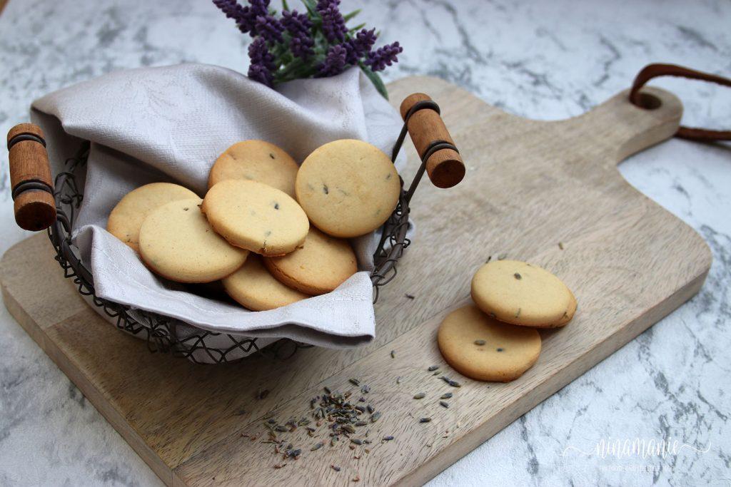 Lavendel-Mürbeteig-Kekse