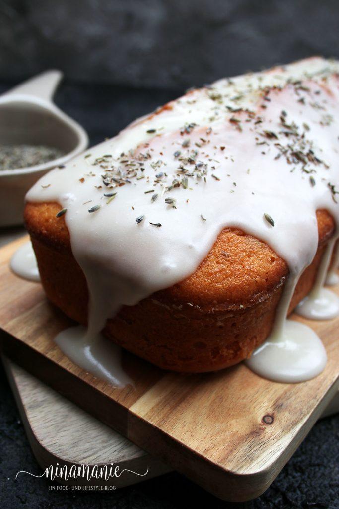 Zitronen-Lavendel-Kuchen