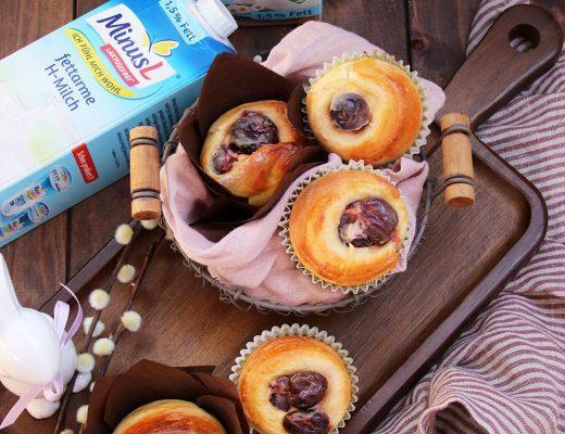 Hefe-Kirsch-Muffins mit MinusL
