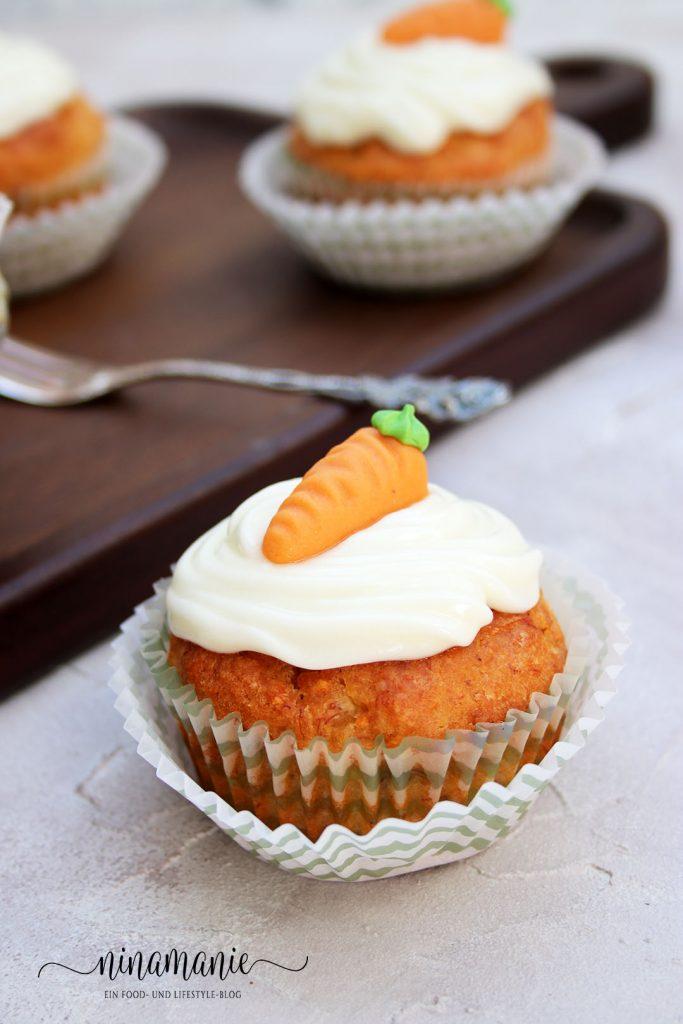 Bananen-Möhren-Cupcake