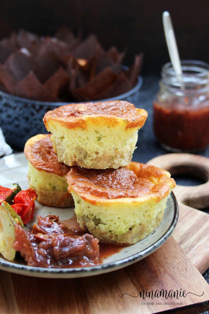 Leckere herzhafte Muffins