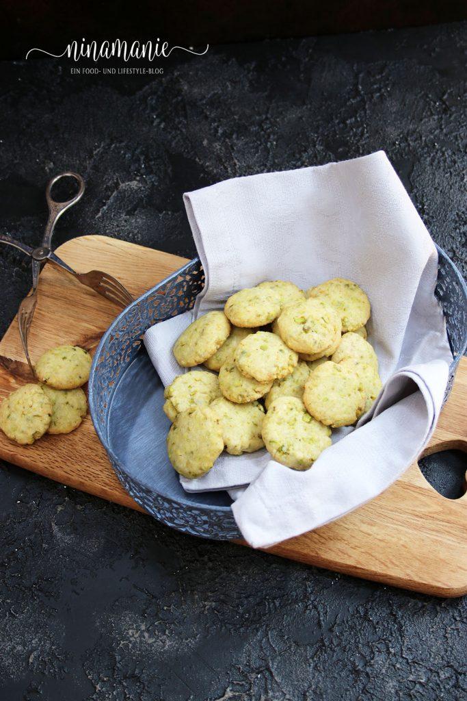 Zitronenplätzchen mit Kardamom