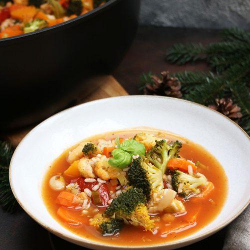 Gemüseeintopf mit kela