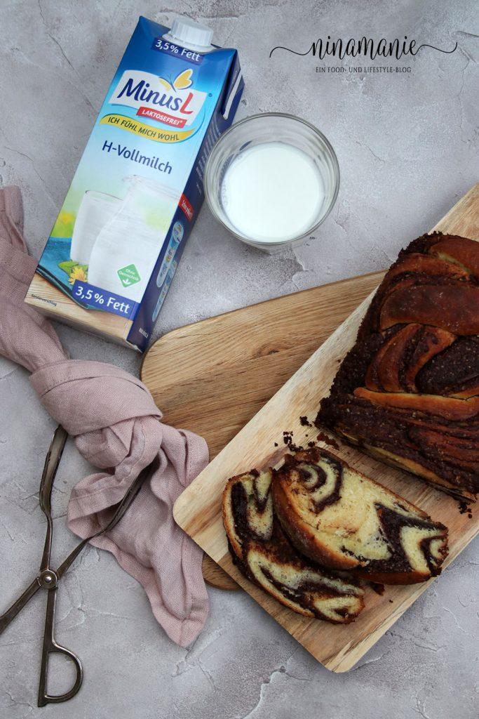 Gebäck mit laktosefreier Milch von MinusL