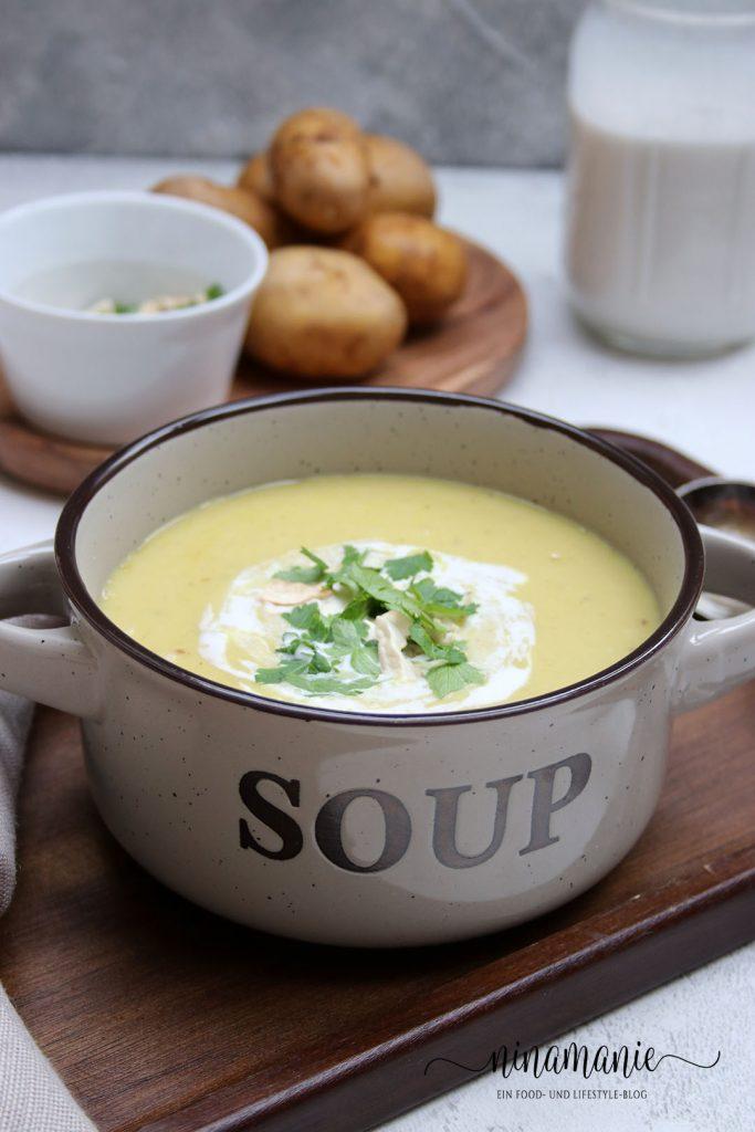 Kartoffel-Currysuppe