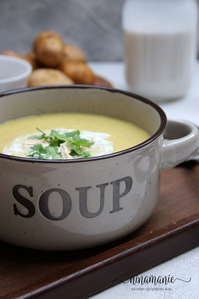 Kartoffel-Currysuppe mit ALDI Süd