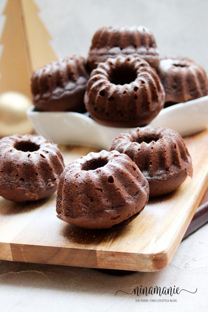 Kleine Köstlichkeiten - Kleine Schoko-Lebkuchen-Gugel