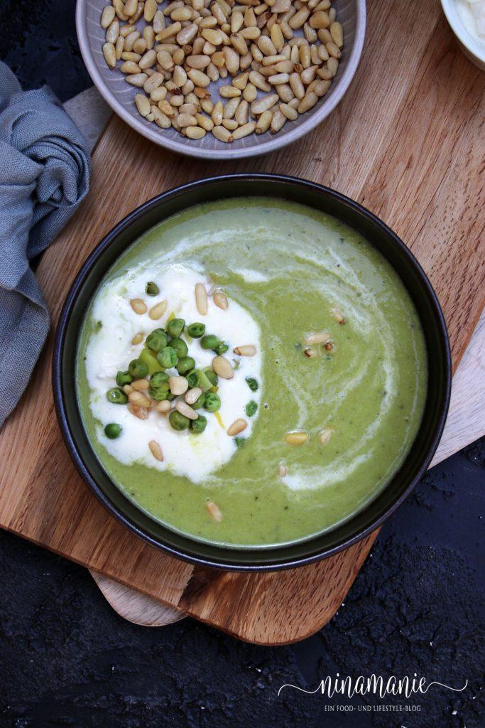 Suppe aus Erbsen