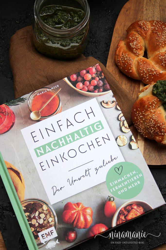 """Buchcover """"Einfach Nachhaltig Einkochen"""""""