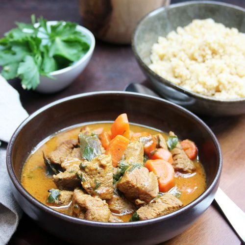 Malaysian Rindfleisch-Curry