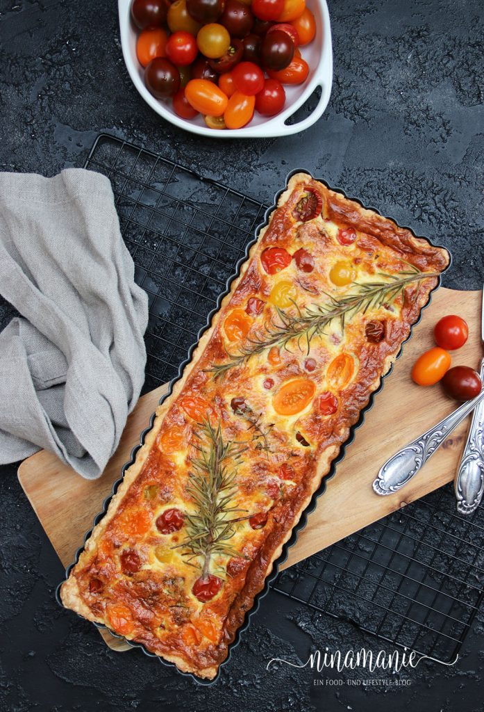 Leckere Tarte mit Tomaten